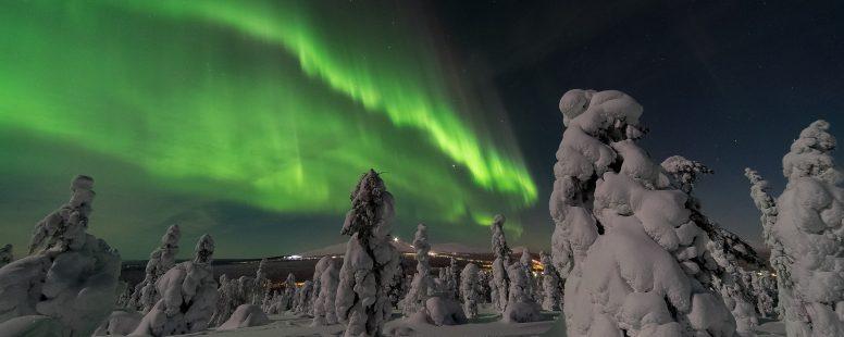 Aurora borealis - Estudiar en Finlandia