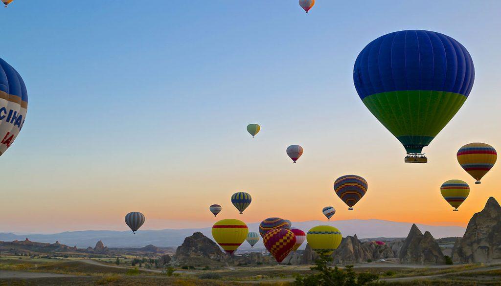 Globo Aerostático Cappadocia, Turquía