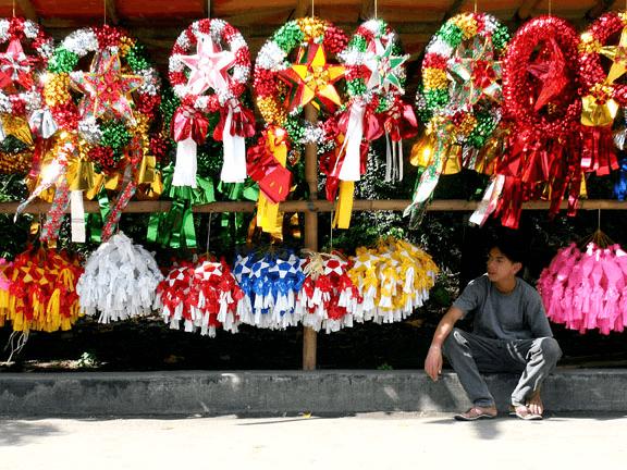 El festival de los farolillos gigantes Filipinas