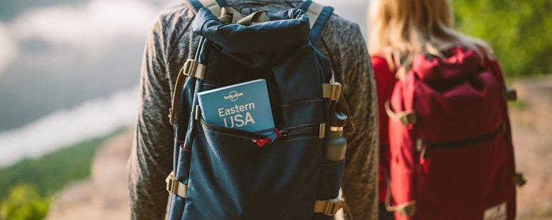 estudiantes de intercambio de secundaria están viajando