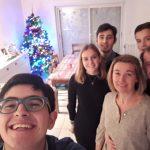 Descubre Francia - Javier con familia anfitriona