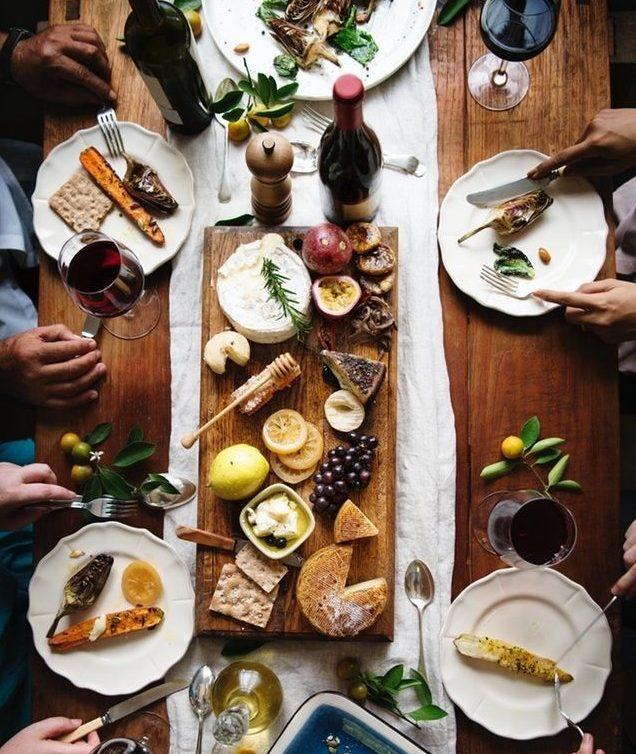 comida francesa - estudiar en Francia