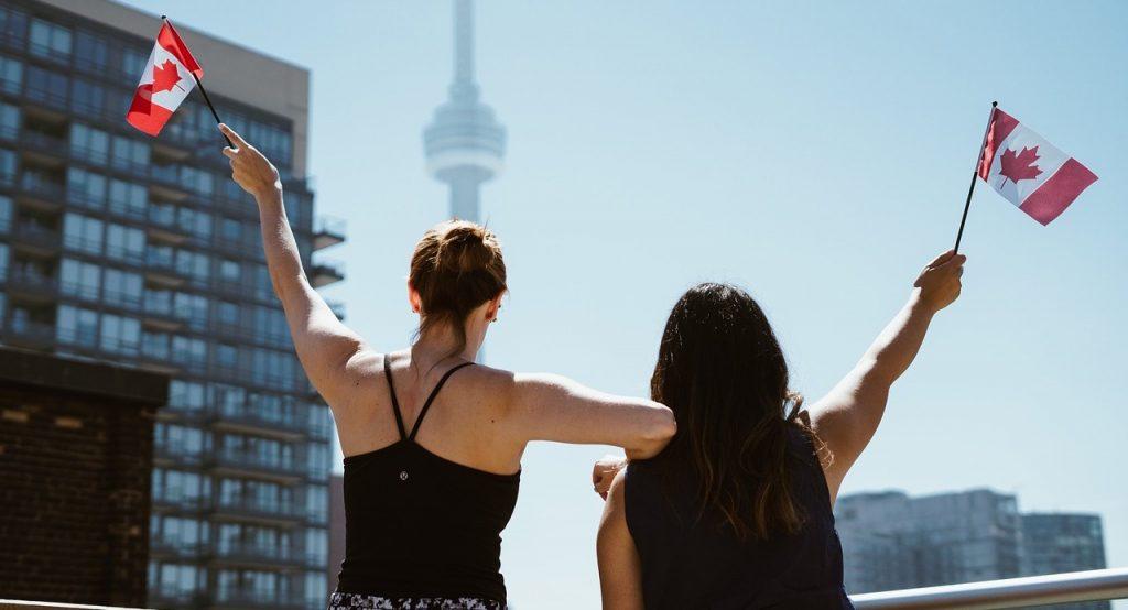 chicas estudiantes Canada Toronto