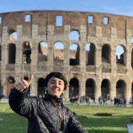 roma estudiante de intercambio coliseo