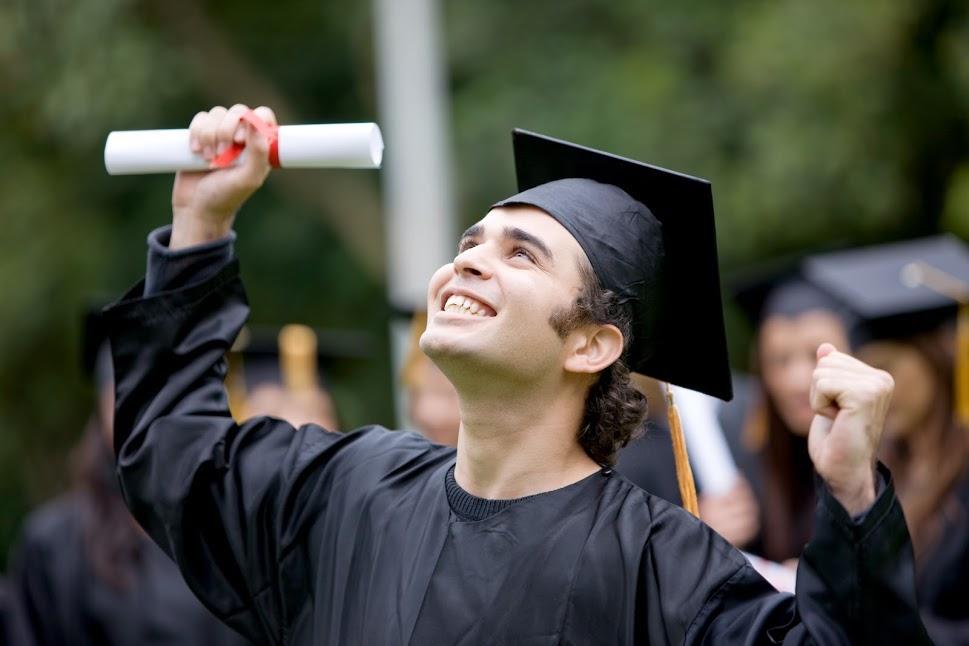 estudiante de intercambio diploma