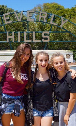 Estudiar en el extranjero preparatoria en Estados Unidos | Visita Beverly Hills