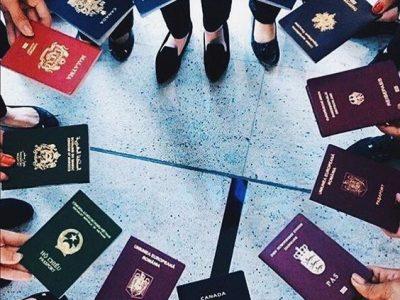 Foto de pasaportes